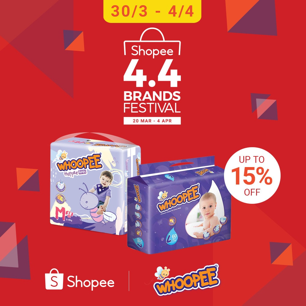Whoopee Shopee 4.4 Brands Festival